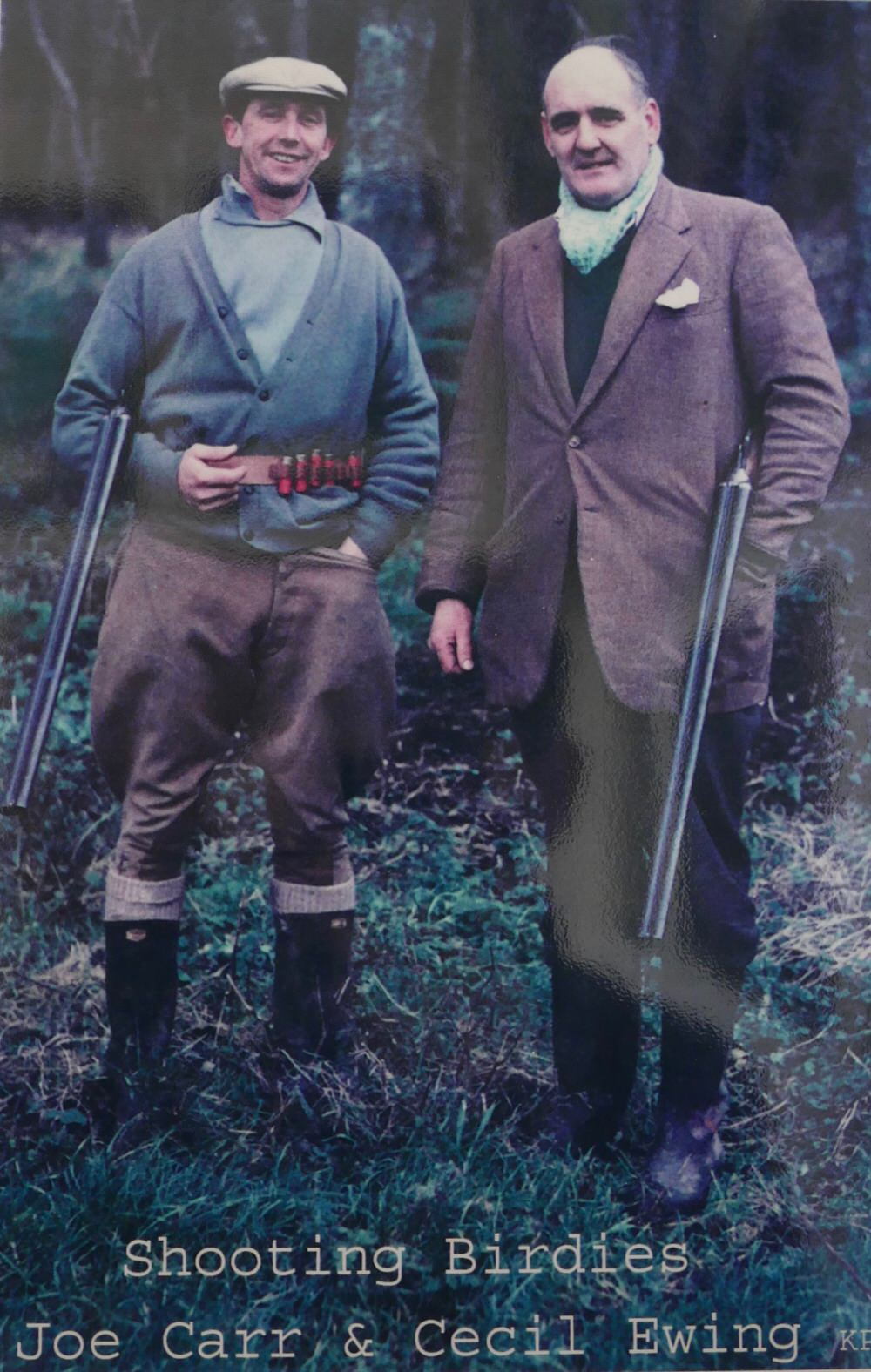 Joe Carr and Cecil Ewing won 22 West of Ireland titles between 1930 and 1966
