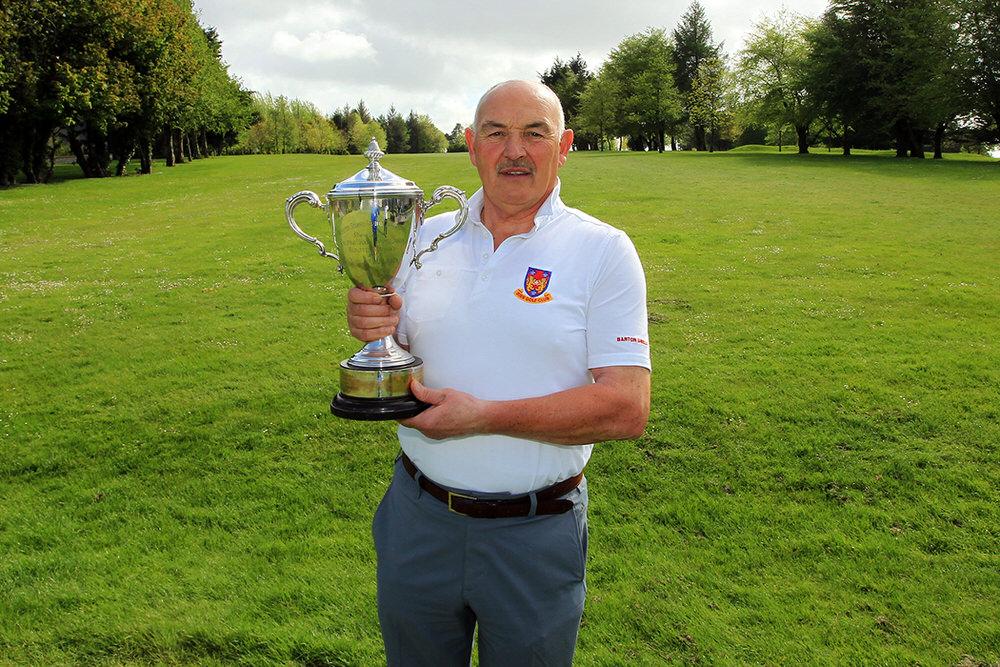 Billy Donlon (Birr) pictured after winning the Munster Seniors Amateur Open