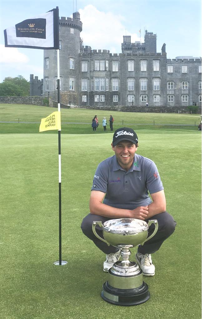 Neil O'Briain with the 2018 PGA Irish Club Professional's title