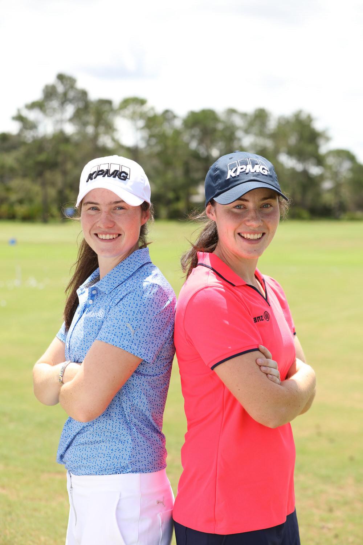 Leona (left) and Lisa Maguire