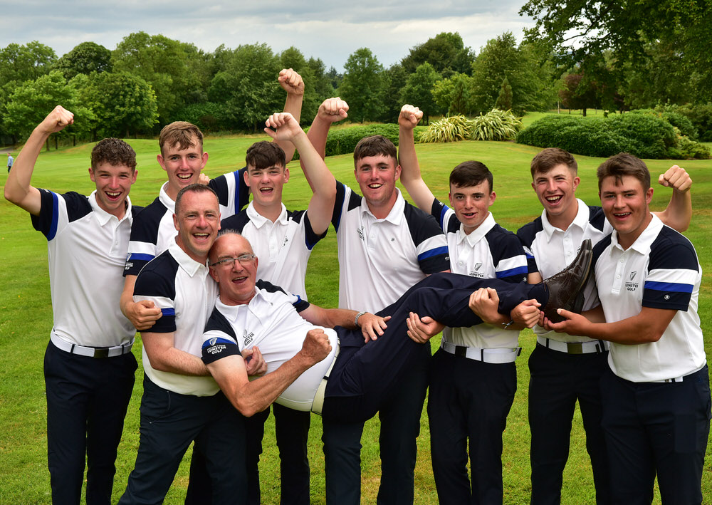 2018 Boys Interprovincial Championship at Slieve Russell Golf Re