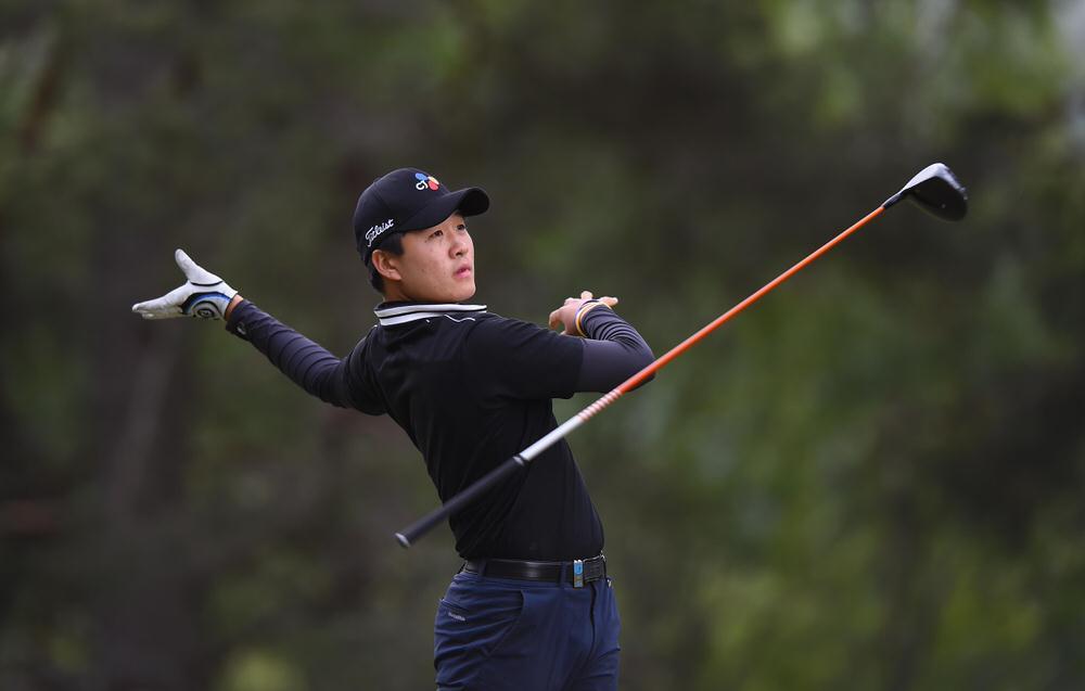 South Korea's Minkyu Kim.Picture:Getty Images