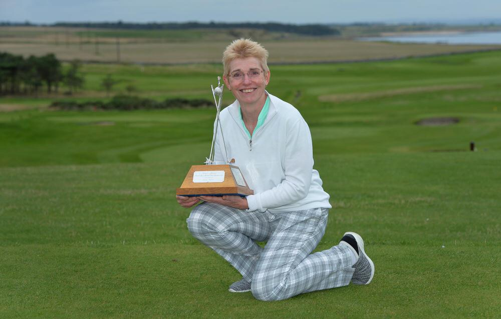 Ireland's Laura Webb won the Women's Senior Amateur Championship at Crail. Picture: The R&A/Getty Images.