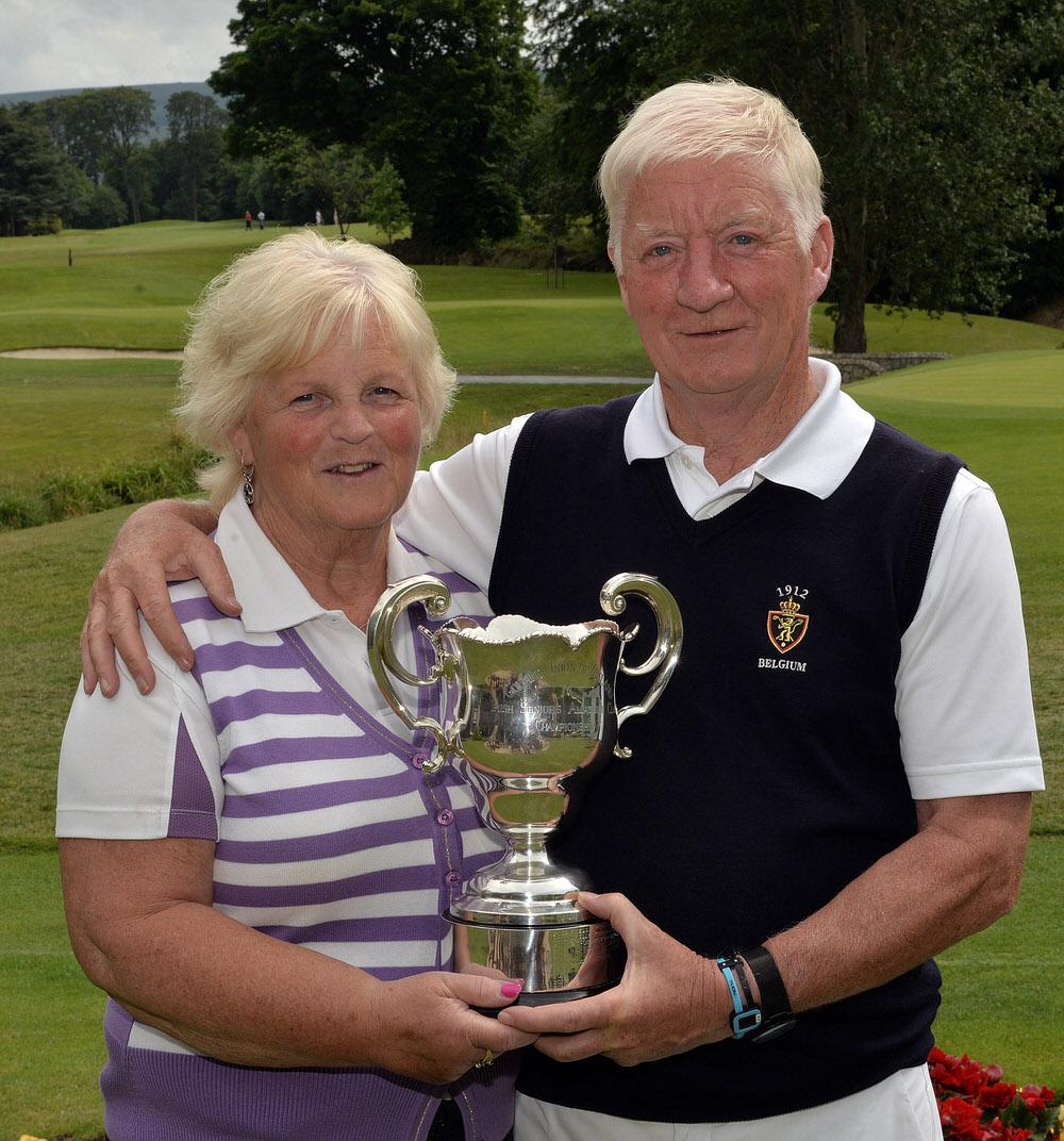 2015 Irish Seniors Amateur Close Championship at the Grange Golf