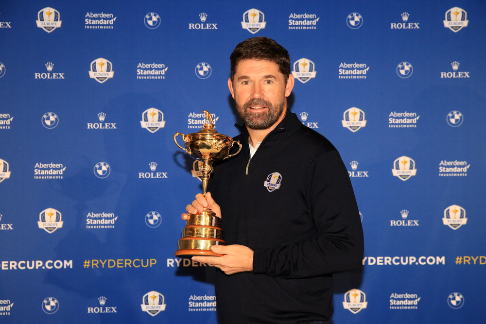 2020 European Ryder Cup captain, Pádraig Harrington. Picture: Getty Images