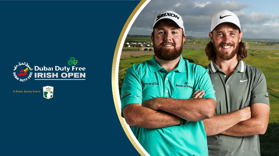 Shane Lowry and Tommy Fleetwood will be in Lahinch for the 2019 Dubai Duty Free Irish Open