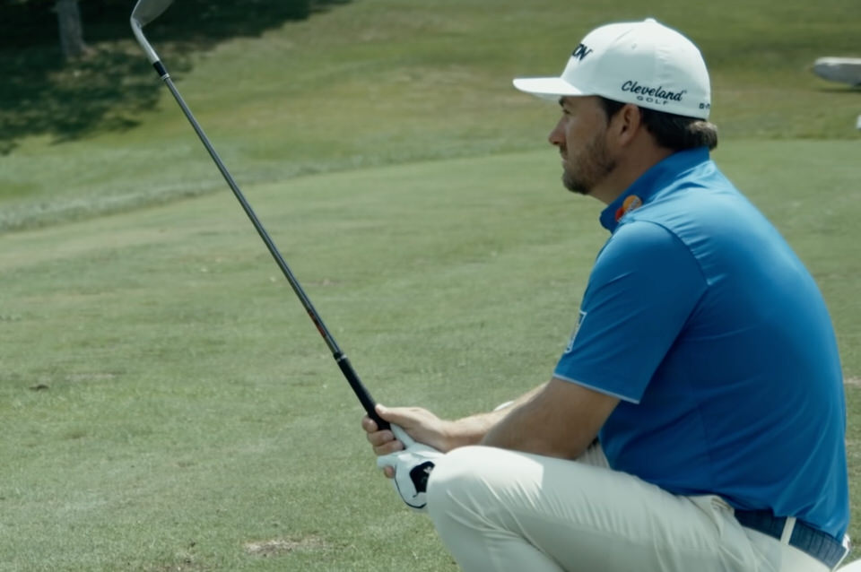 Graeme McDowell in a still from a  Team RBC video  on his journey in golf