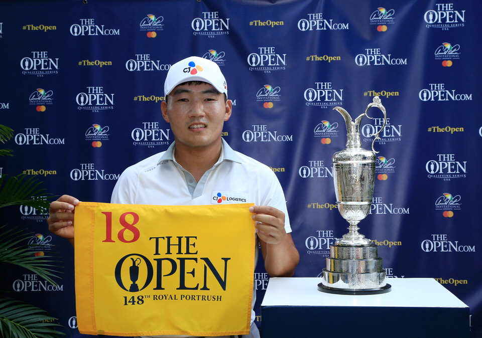 Sung Kang qualified for The 148th Open at the Arnold Palmer Invitational presented by Mastercard. Credit: The R&A/Getty Images.