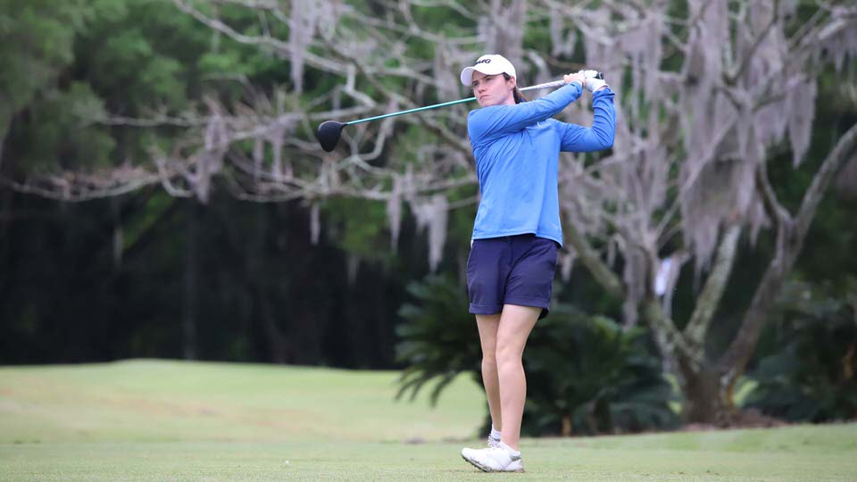 Leona Maguire in action at the Country Club of Winter Haven. Picture: Symetra Tour