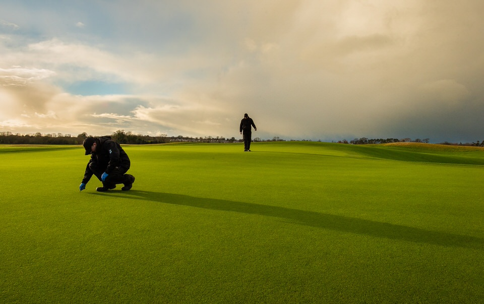 Staff working on The Golf Course at Adare Manor