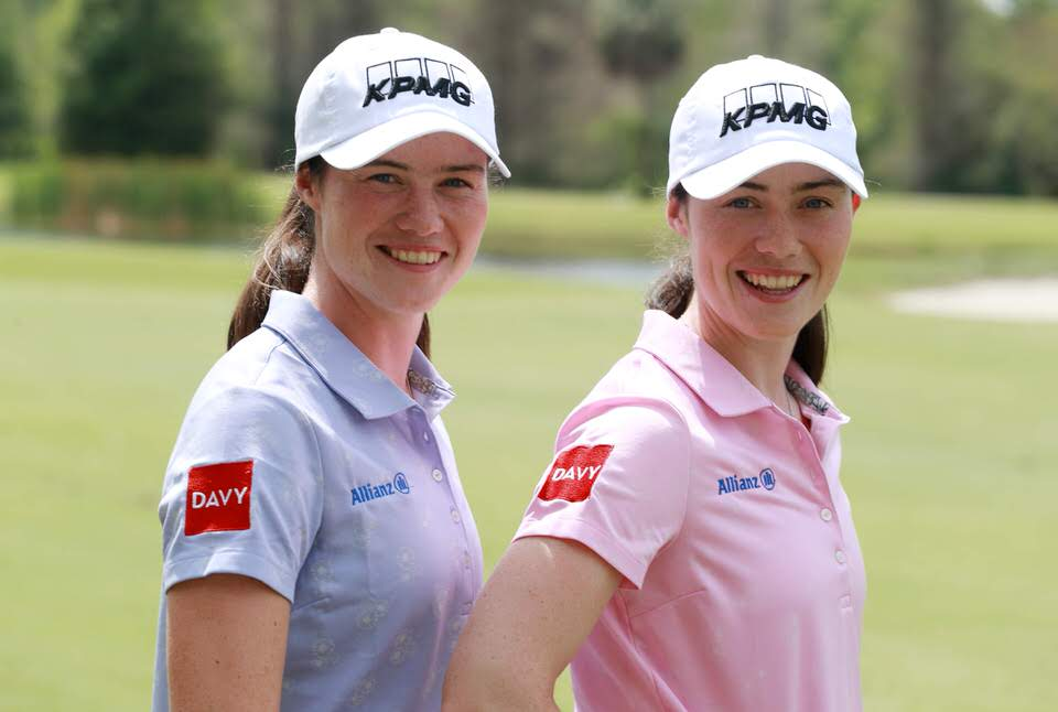 Leona and Lisa Maguire will sport the Davy logo on tour