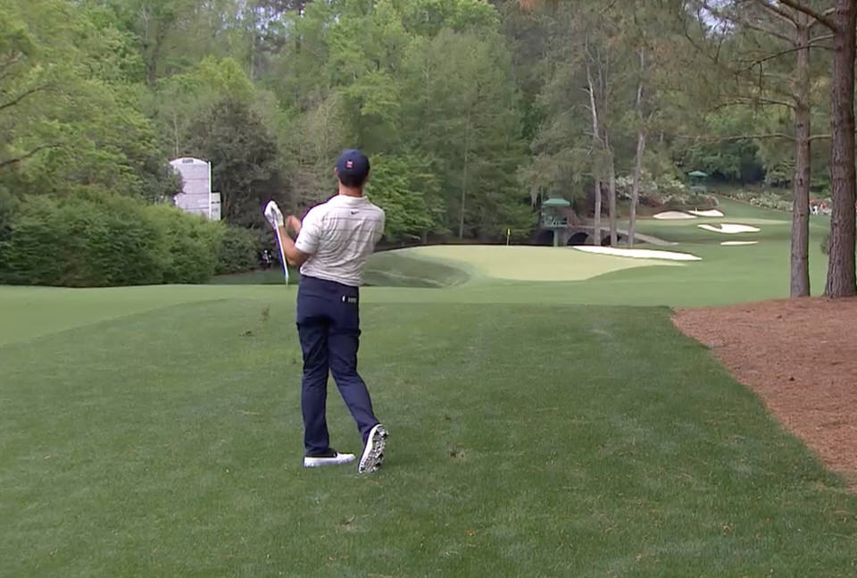 Rory Mcilroy laments a wayward approach to the 11th