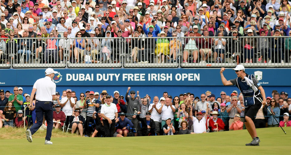 Russell Knox wins the 2018 Dubai Duty Free Irish Open. Picture: Getty Images