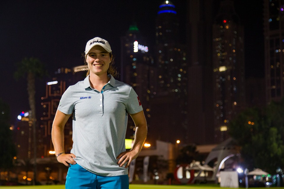 Leona Maguire, pictured in Dubai last week
