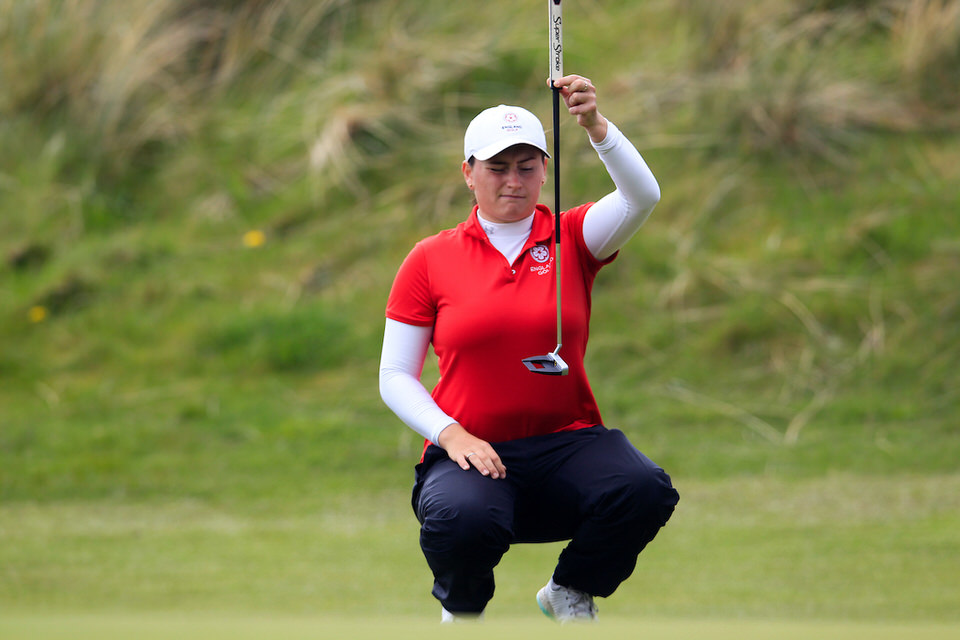 Lily May Humphreys. Picture: Golffile   Fran Caffrey
