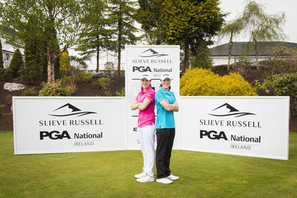 Leona and Lisa Maguire at Slieve Russell Hotel, Golf & Country Club in Co Cavan