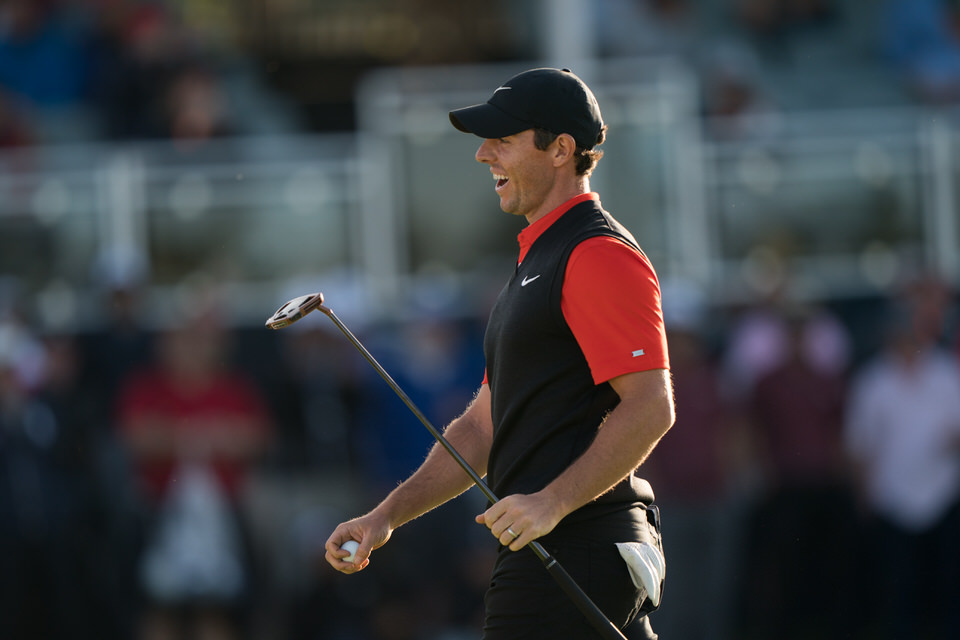 Rory McIlroy at Bethpage. Picture: USGA