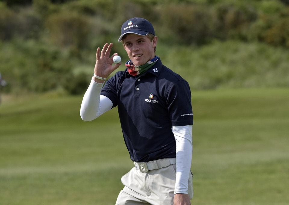 Winner Martin Vorster (South Africa)
