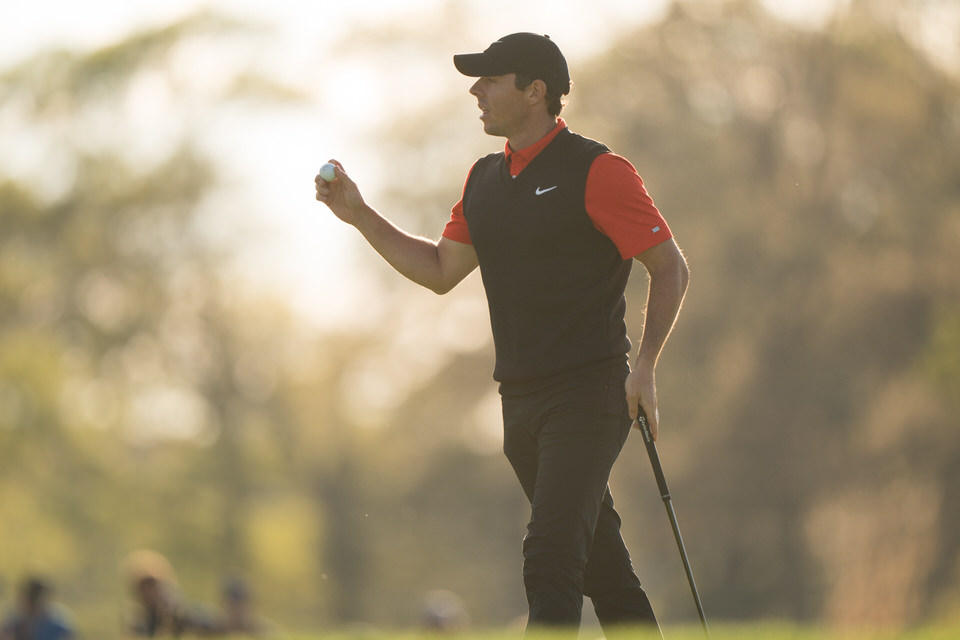 Rory McIlroy at Bethpage Black Golf Course on May 16, 2019. Photo by Darren Carroll/PGA of America