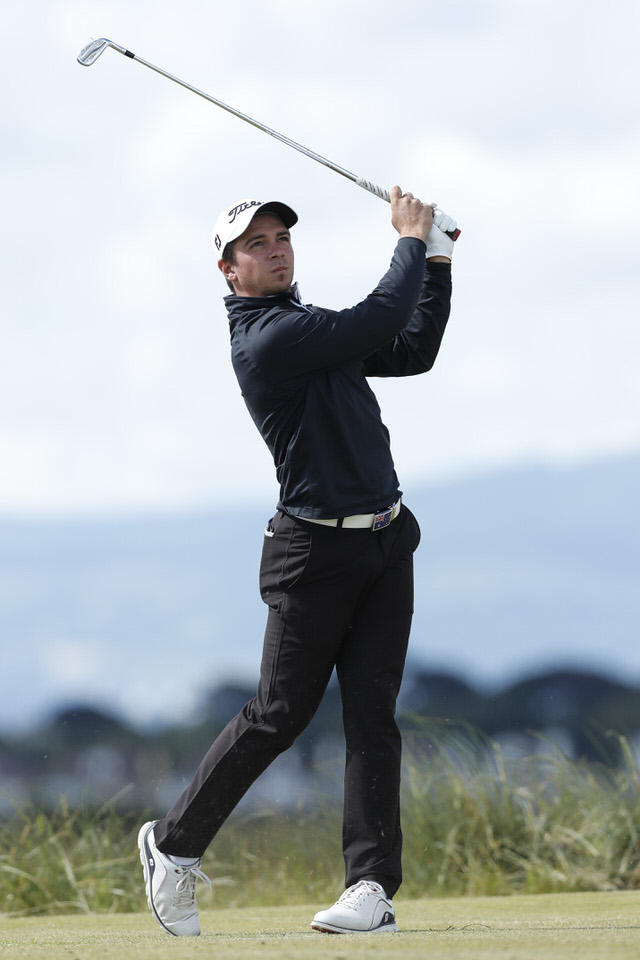 Australia's David Micheluzzi in action at The 124th Amateur Championship at Portmarnock. Credit: The R&A/Getty