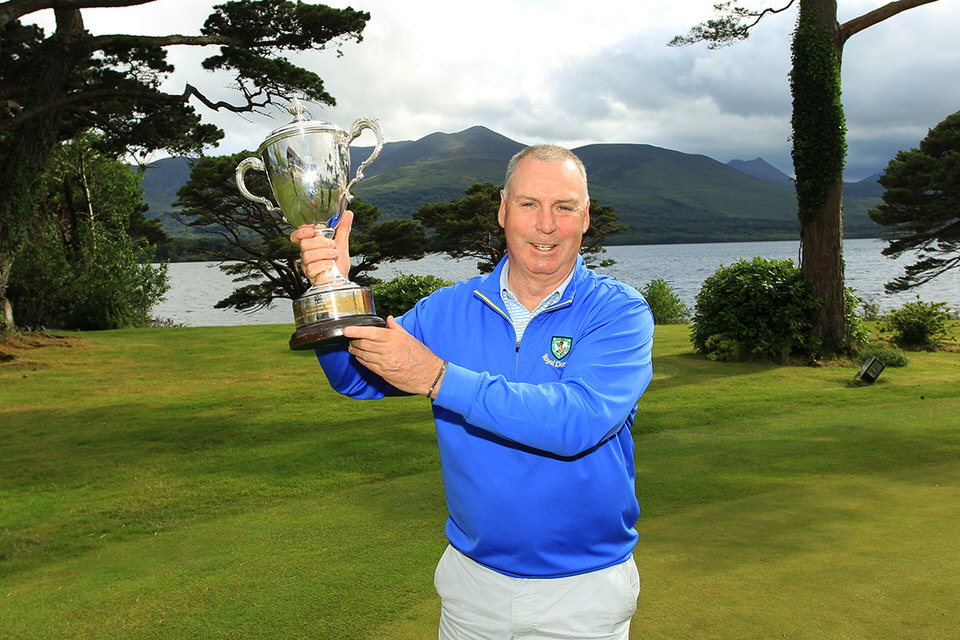 Munster Seniors Amateur Open winner Garth McGimpsey (Royal Portrush) who won the title in Killarney Golf & Fishing Club. Picture: Niall O'Shea