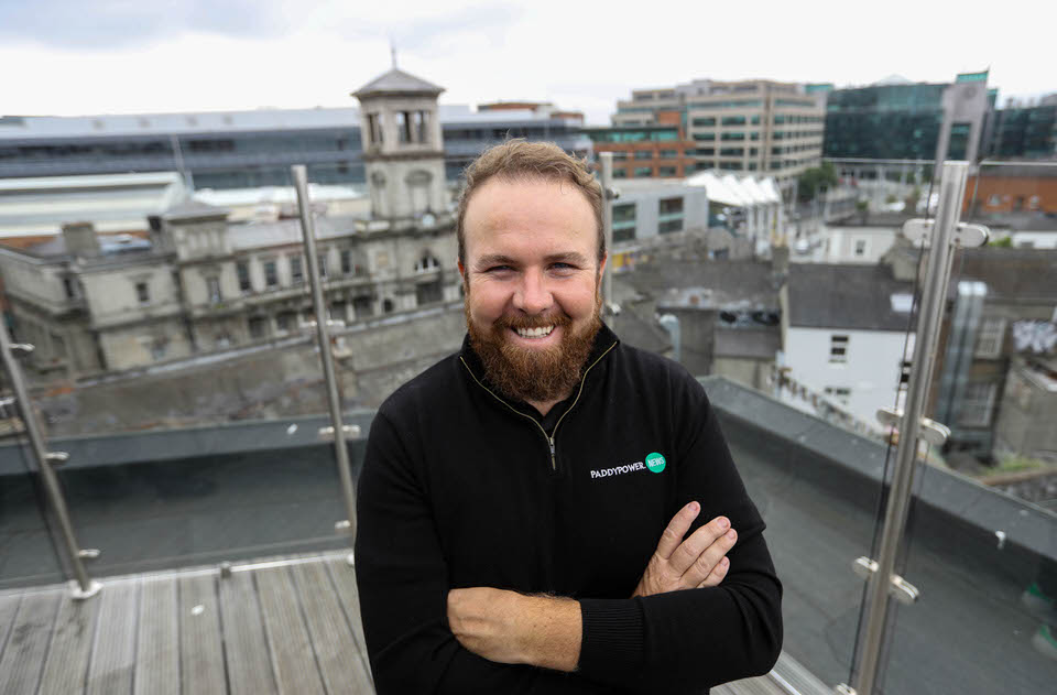 Paddy Power Golf Ambassador Shane Lowry photographed at a media event where he cut a relaxed figure as he spoke to press on the rooftop of The Address at Dublin 1 ahead of next week's Irish Open 25/6/2019. Picture : Lorraine O'Sullivan/Sharppix
