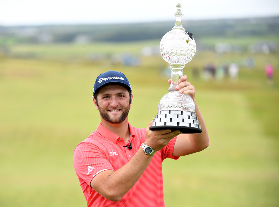 Dubai Duty Free Irish Open champion Jon Rahm. Picture: Getty Images
