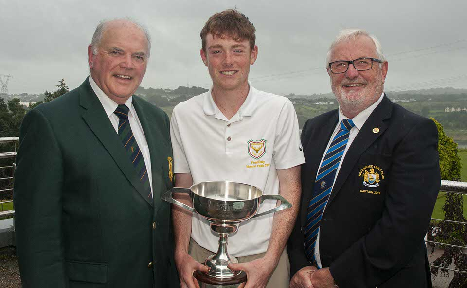 Leinster Boys Amateur Open Championship at Waterford Golf Club