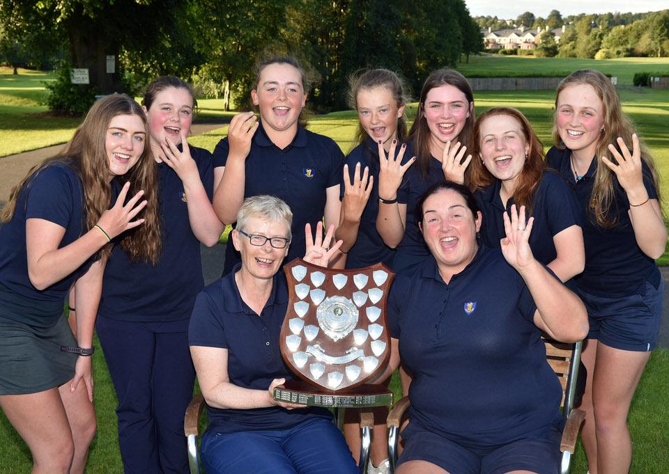 Leinster's winning Girls team
