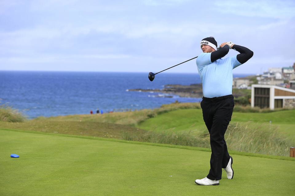 Douglas' Peter O'Keeffe. Picture: Golffile | Fran Caffrey