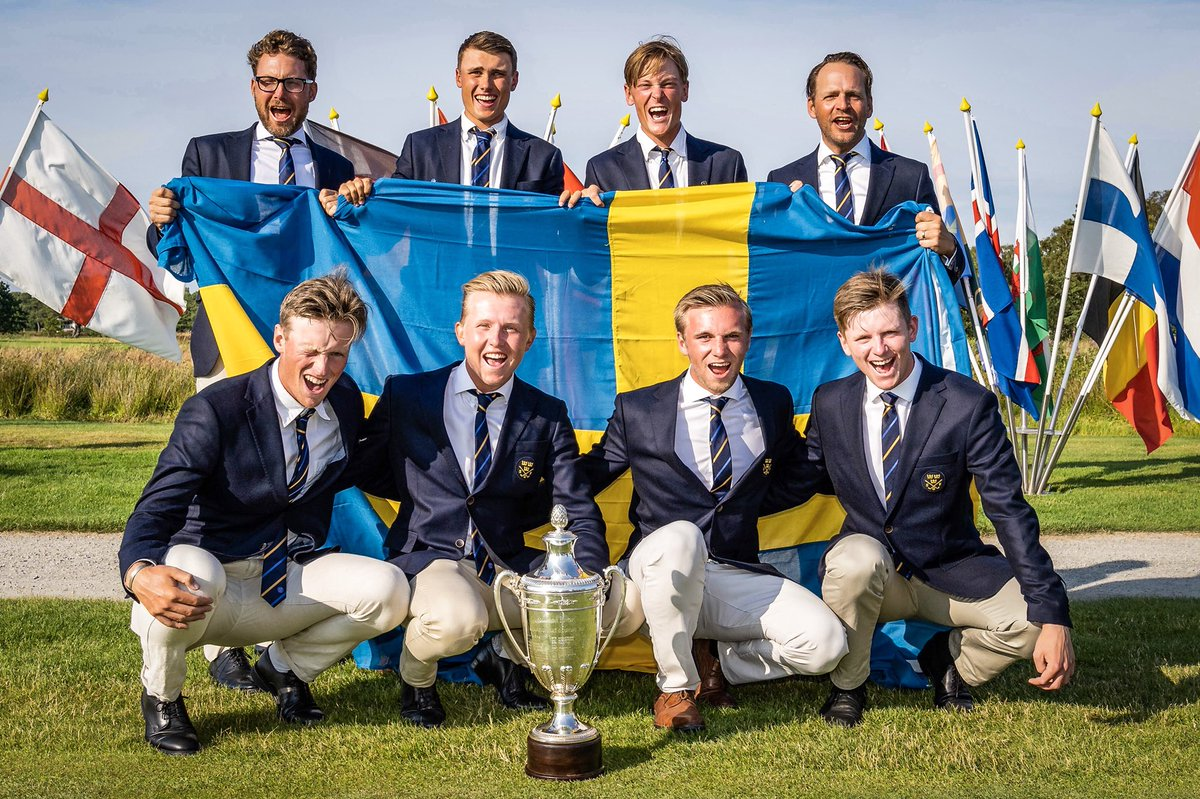 Sweden won the European Amateur Team Championship for the first time for 58 years