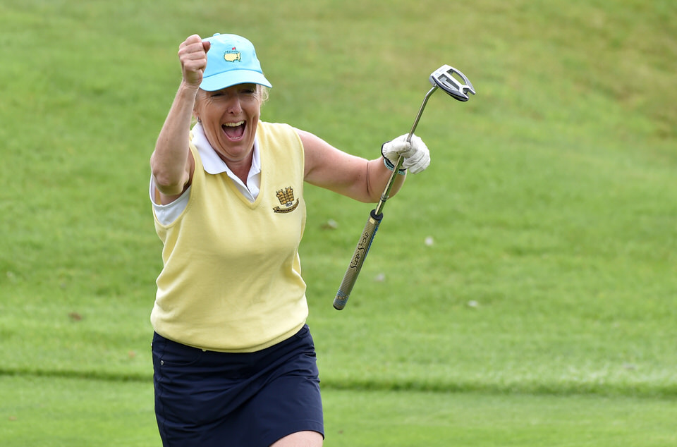 Liz Whitaker, Monkstown celebrates