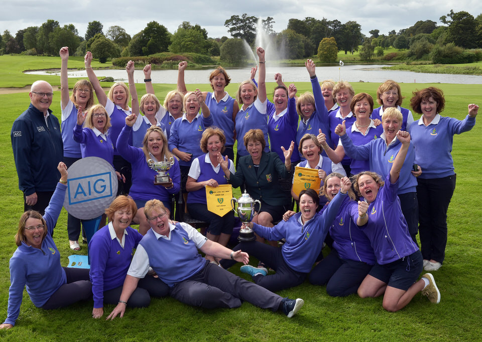 2019 AIG Ladies Cups and Shields East Leinster Finals at the KCl