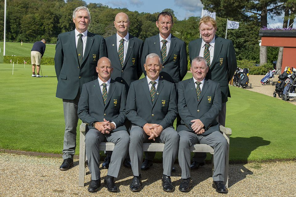 Ireland's silver medal winning Seniors team