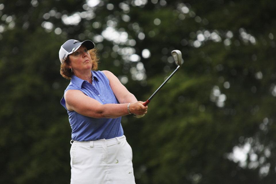 Suzanne Corcoran (Portumna) during the Irish Senior Women's Close Championship 2018 at Monkstown Golf Club, Cork. Picture: Jenny Matthews ( www.cashmanphotography.ie)