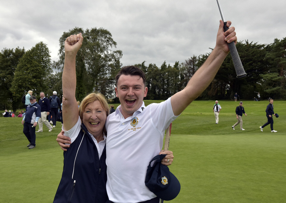 2019 Irish Mixed Foursomes All Ireland Finals at Castletroy Golf