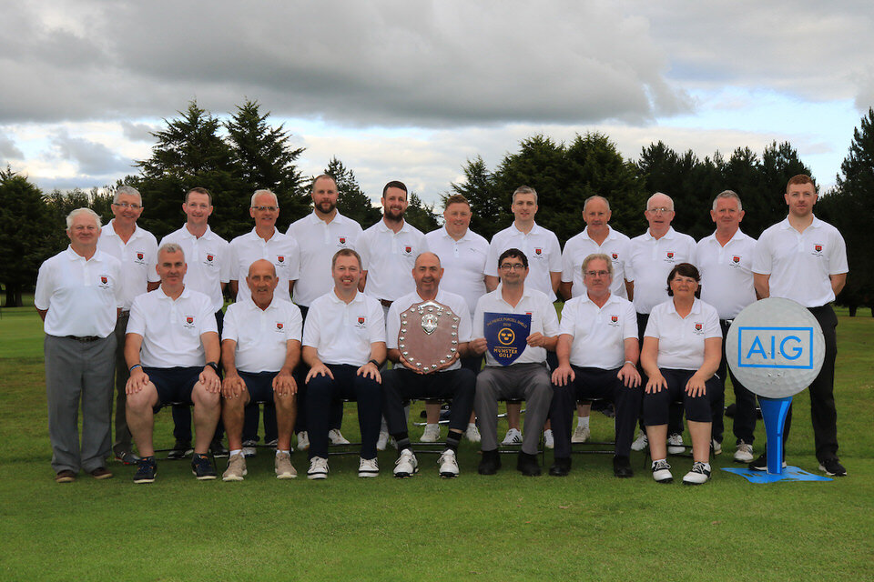 Team Charleville winners of the AIG Pierce Purcell Shield Munster Final, Nenagh Golf Club, Nenagh, Co Tipparery.  20/07/2019. Picture: Golffile   Thos Caffrey   All photo usage must carry mandatory copyright credit (© Golffile   Thos Caffrey)