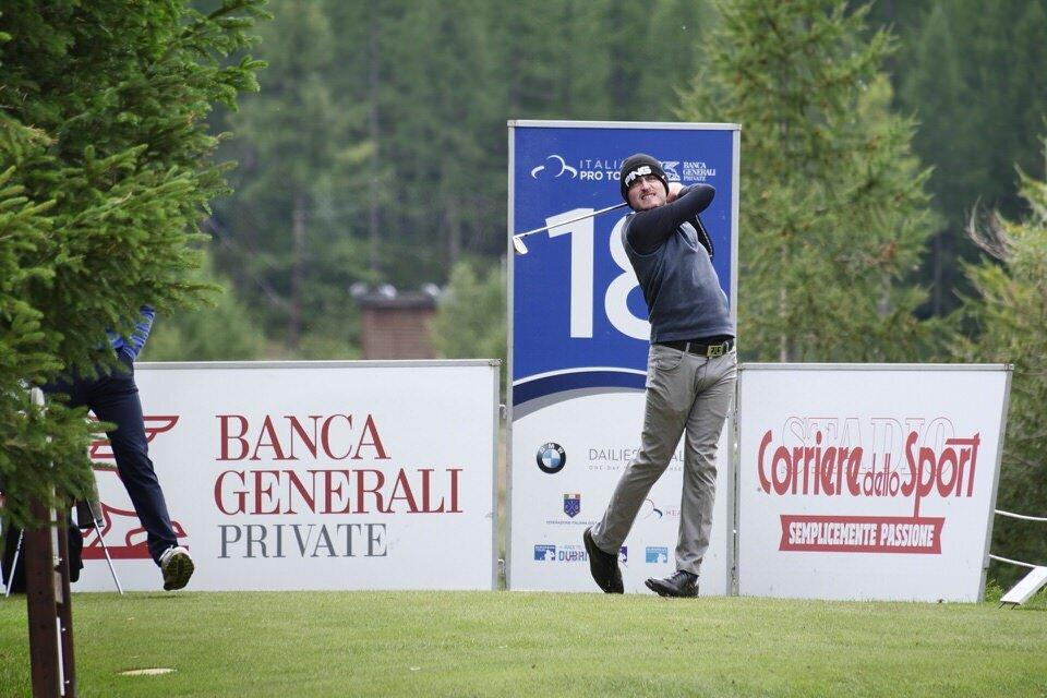 David Carey. Picture: Bellicini/Alps Tour