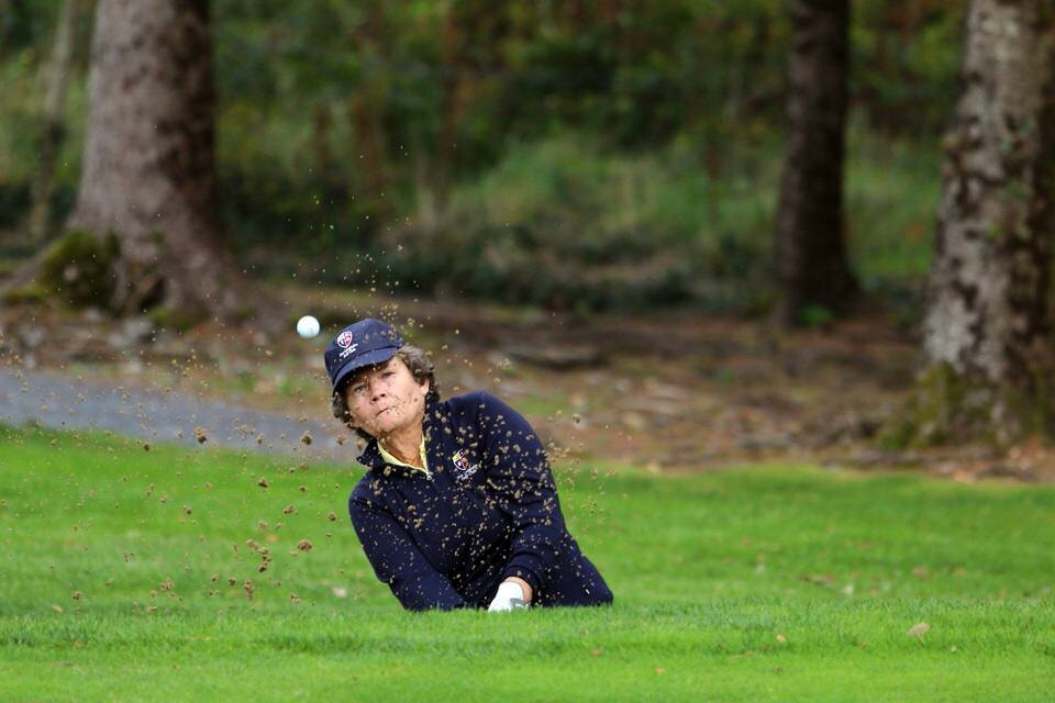 Fiona Scott (DunLaoghaire) at the Revive Active Ladies National Interclub Fourball Finals at Athenry Golf Club.image by Jenny Matthews (www.cashmanphotography.ie)