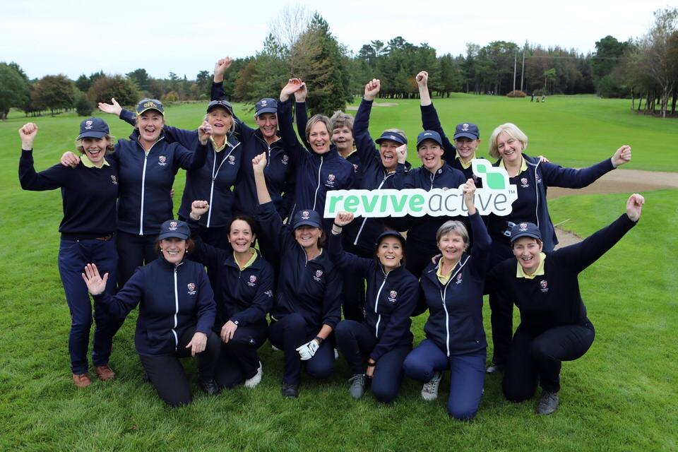 DunLaoghaire win the Revive Active Ladies National Interclub Fourball Finals at Athenry Golf Club.image by Jenny Matthews (www.cashmanphotography.ie)