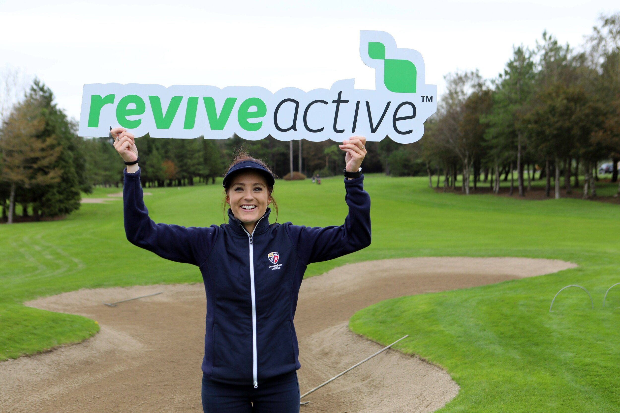 Caroline Hewitt (DunLaoghaire) as DunLaoghaire win the Revive Active Ladies National Interclub Fourball Finals at Athenry Golf Club.image by Jenny Matthews (www.cashmanphotography.ie)