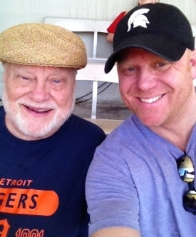 My dad and I on our Spring Training trip a couple years ago.