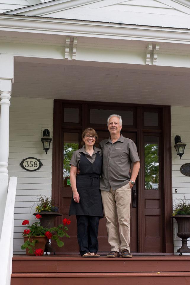 Gillespie House owners, Lori Lynch & David Beattie