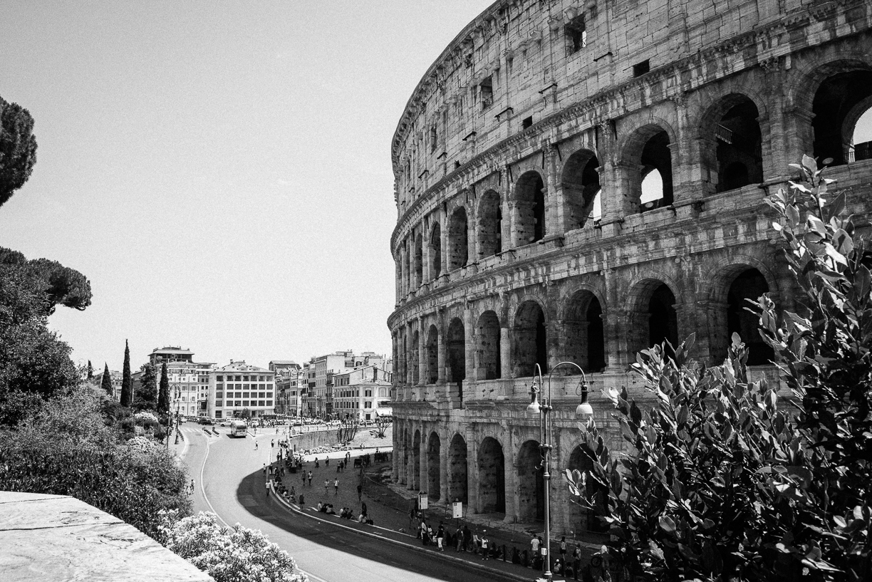 The Colosseum, Rome, Italy, June 2016
