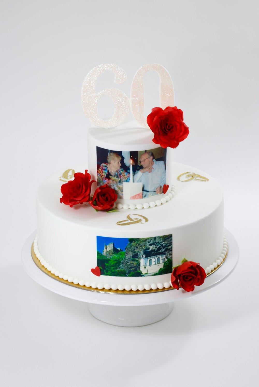 Hochzeit torte für diamantene Hochzeitstorte mit