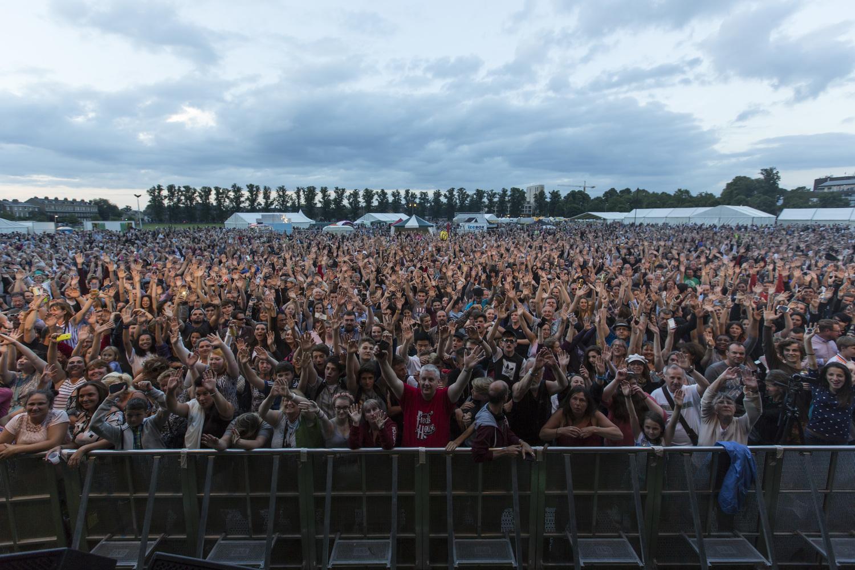 Big Weekend 2016 Crowd