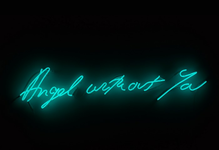 Tracey Emin, Angel Without You, 2013. (c) the artist.