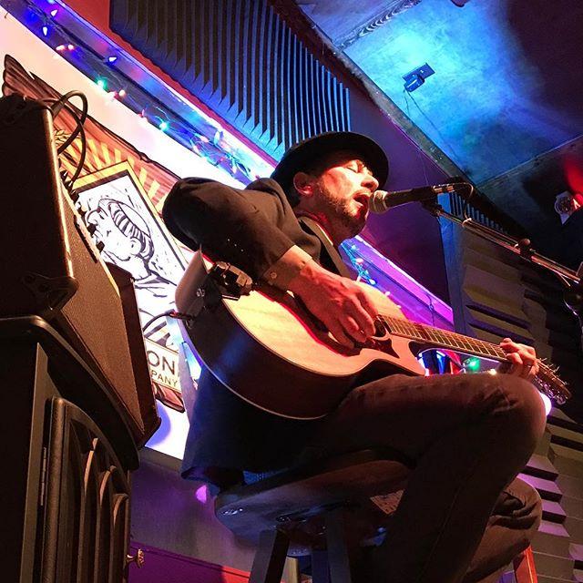 Doug Frederick last night at Third Monk
