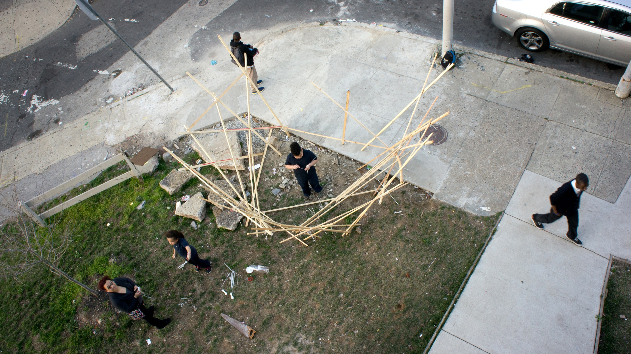 Prototyping of the eagles nest.