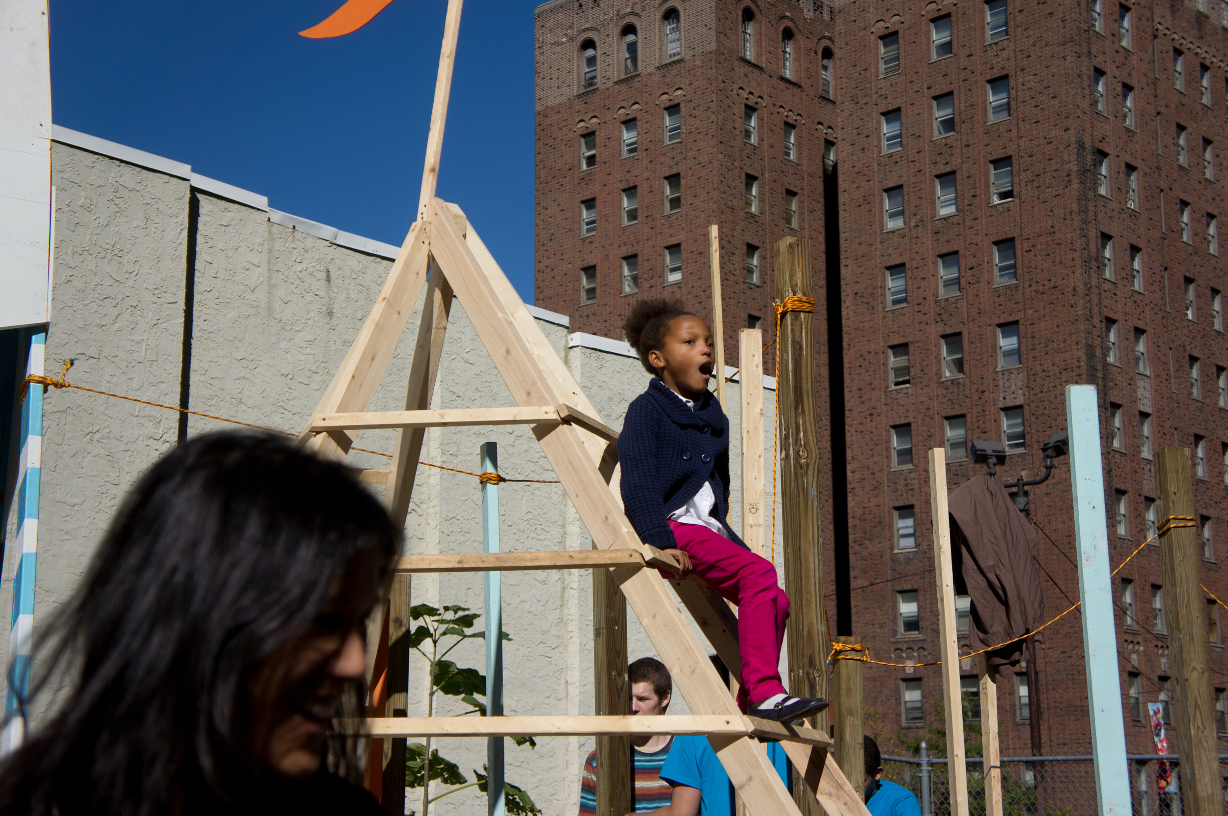There is no limit to what is play equipment.